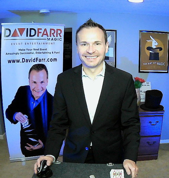 Stage Magic Show with David Farr